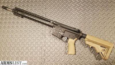 "For Sale: Custom Built AR-15 16"" SS RECCE - BCM, B5 Systems, Noveske, Vltor"