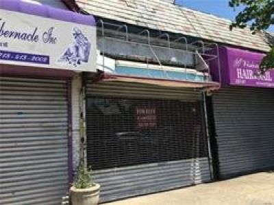 ID#: 1298642 Commercial Property Available For Rent In Cambria Heights Features 900 Interior Sq Ft.