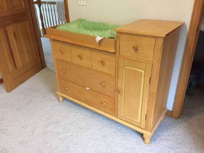 Baby Changing Table and Drawers