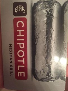 Chipotle giftcard
