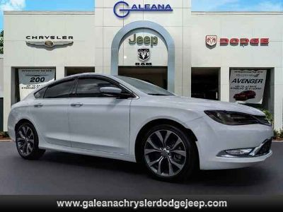 Used 2015 Chrysler 200 4dr Sdn FWD
