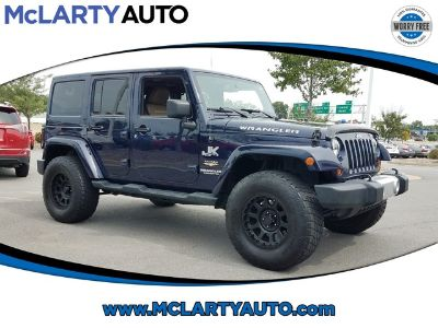 2013 Jeep Wrangler Unlimited Sahara (True Blue Pearlcoat)
