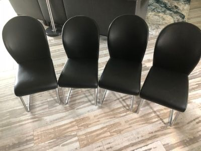 Dinette chairs - set of 4