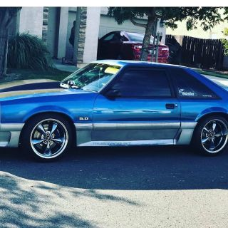 1990 Ford mustang 331 Strocker turbo charged