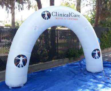 Inflatable Arches in various styles & sizes