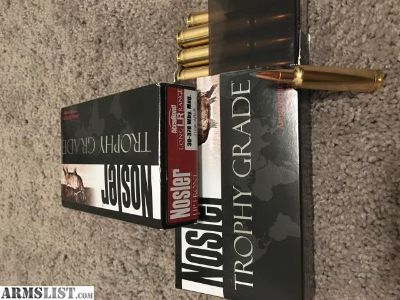 For Sale: 30-378 Wby Mag Nosler Ammo
