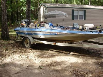 18 Bass Boat with 150hp motor