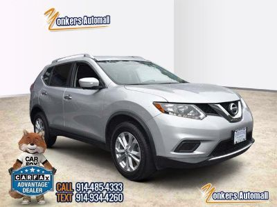 2015 Nissan Rogue SV w/Navigation (Brilliant Silver)
