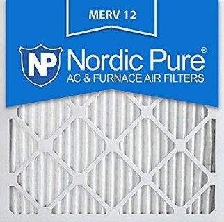 Pleated air filters. 12 x 12. Brand new