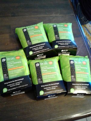 New Dr Lin Acne and makeup removal cleansing wipes