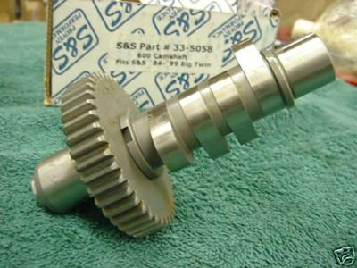 Purchase S&S 600 CAMSHAFT '84-99 BT HARLEY BIG DOG IRONHORSE 107 111 113 117 121 124 motorcycle in Lyons, Kansas, US, for US $69.99