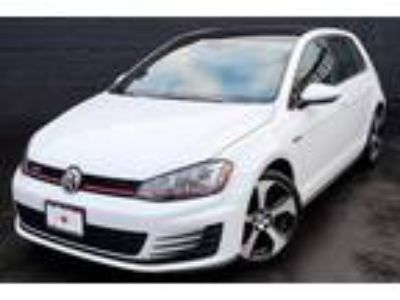 $23995.00 2016 Volkswagen Golf GTI with 15722 miles!