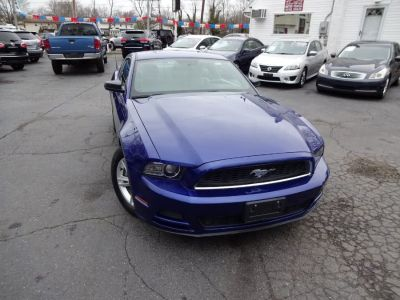 2013 Ford Mustang V6 (Deep Impact Blue Metallic)