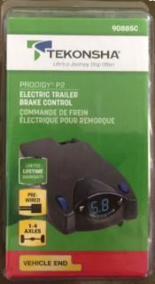 Purchase TEKONSHA 90885C PRODIGY P2 ELECTRONIC TRAILER BRAKE CONTROL FREE SHIPPING motorcycle in Covington, Georgia, United States, for US $72.94