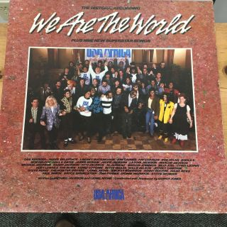 We are the world vinyl