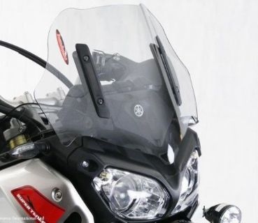 Sell Yamaha Super Tenere 1200 10 13 Off Road Short Sport Shield Windshield Light Grey motorcycle in Ann Arbor, Michigan, United States, for US $89.95