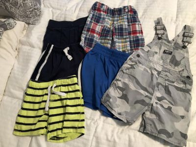 4t boys shorts and shirt overalls