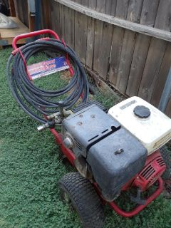 POWER WASHER & SCRUBER AS IS