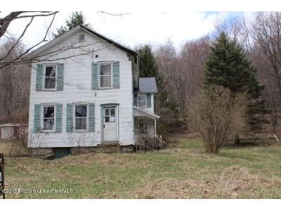 4 Bed 1 Bath Foreclosure Property in Thompson, PA 18465 - Willow Ave