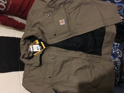 New with tags $119.99 carhartt quick duck coat