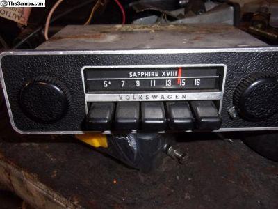 Saphire XV111 AM Radio