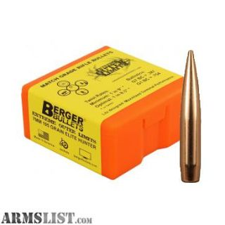 Want To Buy: Berger (,284) 7mm 195 EOL Bullets