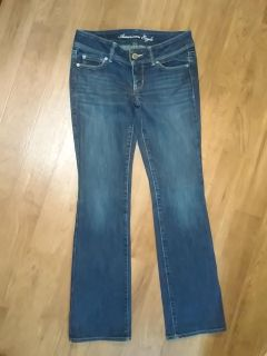 American Eagle AE Slim Boot Stretch Size 4 Jeans