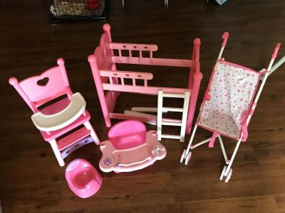 Baby Doll Play Set