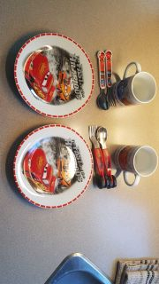 Cars Lightning McQueen dinner sets