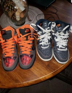 Nike dunks limited editions 3.5y