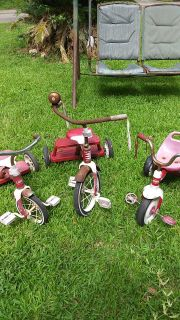 3 Vintage Tricycles $30 for all