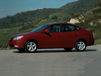2007 Hyundai Elantra GLS (Laguna Sand Metallic)