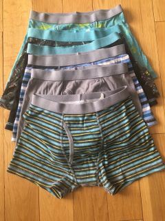 Lot of Cat & Jack boys medium boxers. EUC