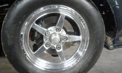 weld aluma star front wheels