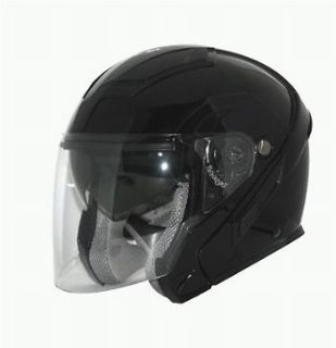 Buy Zox Sierra Open Face Helmet Black motorcycle in Holland, Michigan, United States, for US $94.94