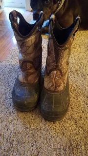 Size one water/snow boots