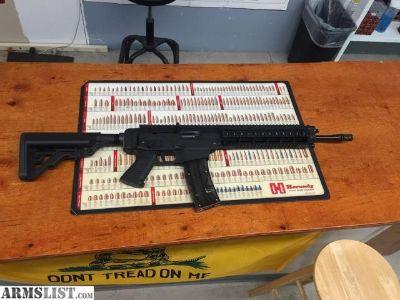 For Sale: Sig Sauer 522 semi-auto .22lr AR style rifle