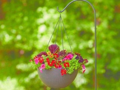 Tri-Weave or Ribbed Hanging Planters 2-Colors/Patterns (see Photos)