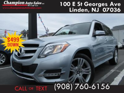 2014 Mercedes-Benz GLK-Class GLK350 4MATIC (Lunar Blue Metallic)