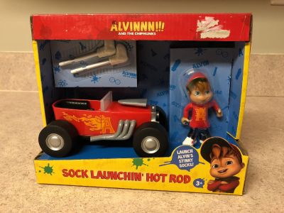 Alvin and the chipmunks sock launchin hot rod