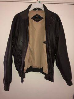 Neiman Marcus Sz 40 Leather Jacket
