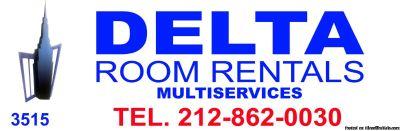 Delta room rentals-
