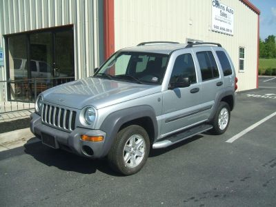 2004 Jeep Liberty Sport (Silver)