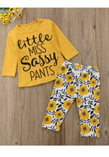 NWT Little Miss Sassy Pants Outfit, Size 90 (12-18M)