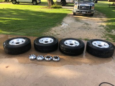 2015 f250 stock rims and tires