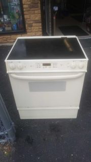 Ge electric glass top stove