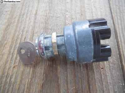 Porsche 356 Ignition Switch with Key C # 107