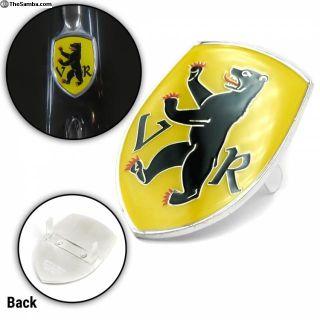 VW Coat of Arms Appenzell Hood Badge Crest Emblem