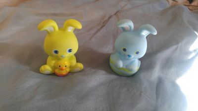 Bunny squirt toys