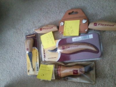 New Wood Carving Tools and Book